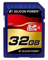 Карта памяти Silicon Power SDHC 32GB Class 10
